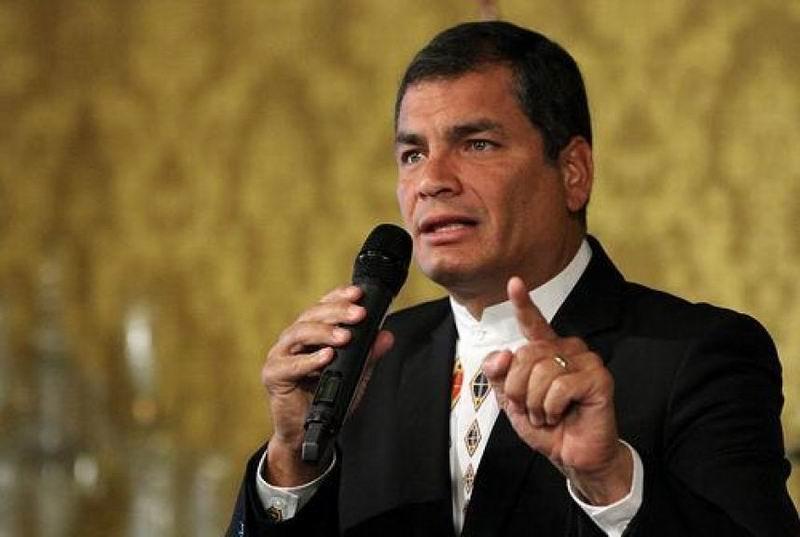 Rafael Correa inaugurar� a�o lectivo en regi�n costera de Ecuador