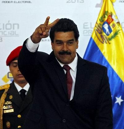 Nicol�s Maduro, presidente de Venezuela