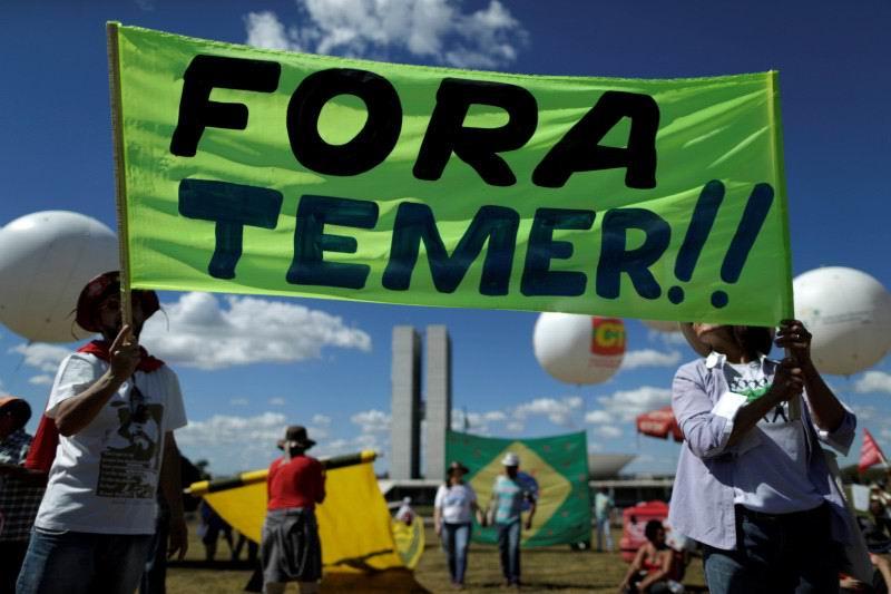 Manifestaciones este miércoles en Brasil
