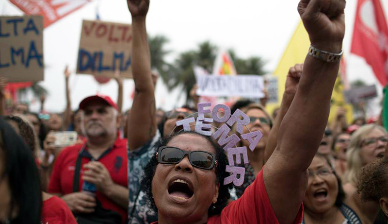 Protests in Brazil