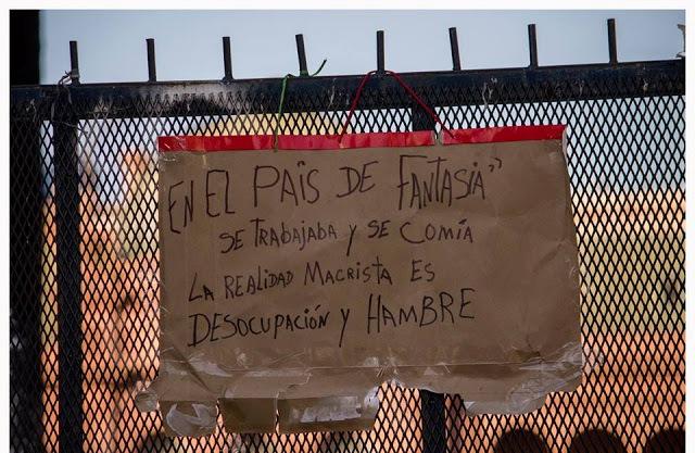 Habrá paro general en Argentina