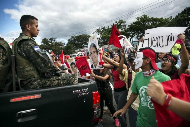 Protestas en Honduras ante resultados electorales