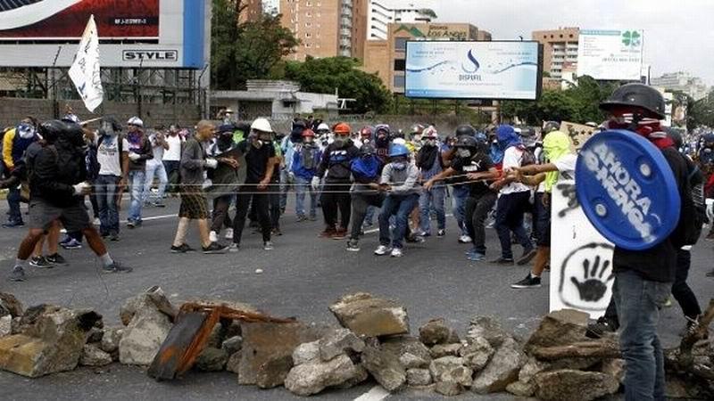 Venezuela, una oposición violenta