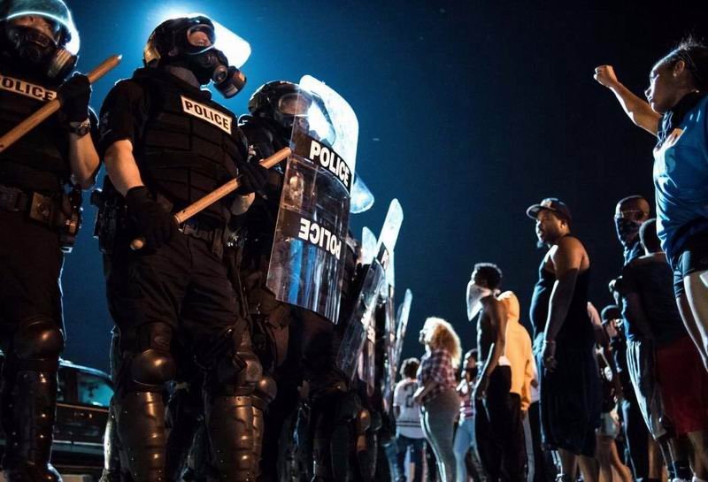 Protestas en Charlotte