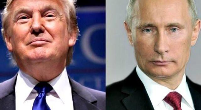 Putin and Trump Meeting