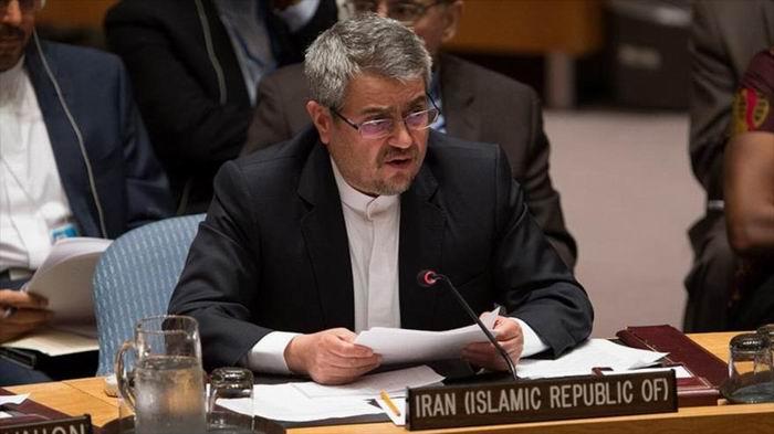 El representante permanente de Irán ante la Organización de las Naciones Unidas (ONU), Qolamali Joshru
