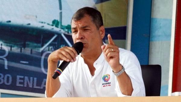 Llama presidente Correa a di�logo y oposici�n responde con protestas