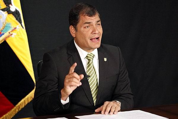 Rafael Correa por la reelección