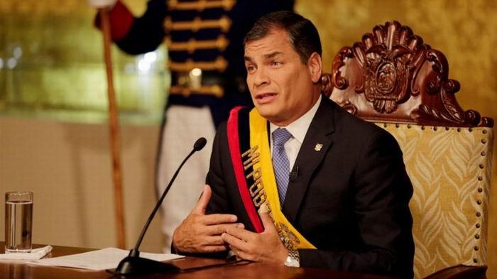 Suspende Ecuador aplicaci�n de proyectos de leyes