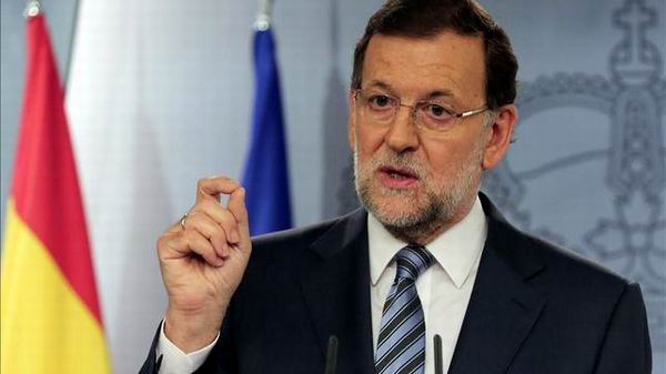 Ofrece Rajoy puentes de di�logo a Catalu�a