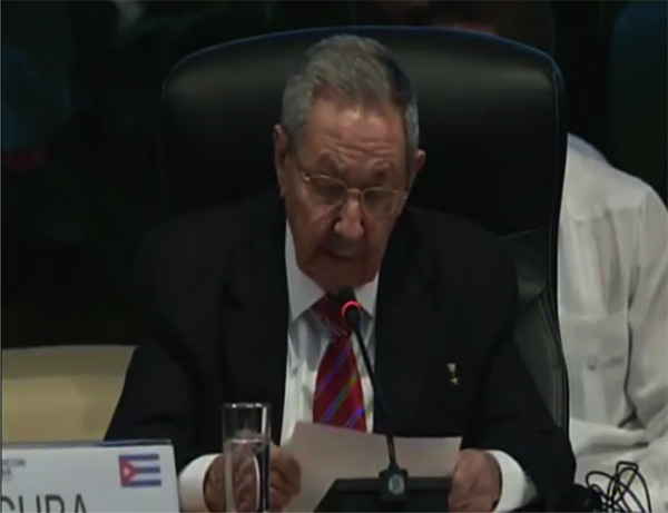 Discurso pronunciado por Raúl Castro en la VI Cumbre Caricom-Cuba
