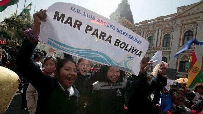 Reclaman Mar para Bolivia