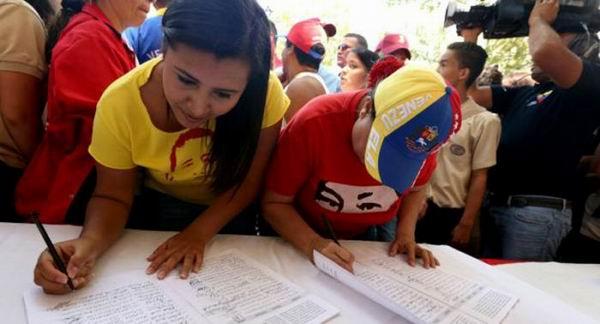 Destacan apoyo masivo a campa�a por Venezuela