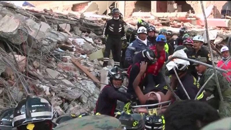 Reitera Cuba apoyo a Ecuador en reconstrucci�n tras terremoto