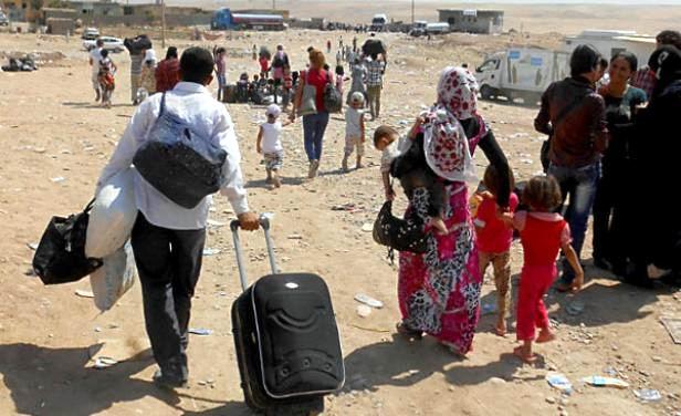 Piden a comunidad internacional acci�n por refugiados sirios