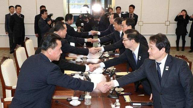 Avanzan las dos Coreas hacia mejoramiento de relaciones (+Fotos)