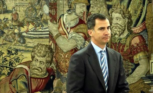 Reanuda Rey de Espa�a consultas para formar gobierno