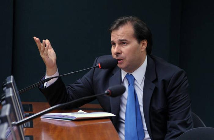 Presidente del Congreso y aliado de Temer, Rodrigo Maia