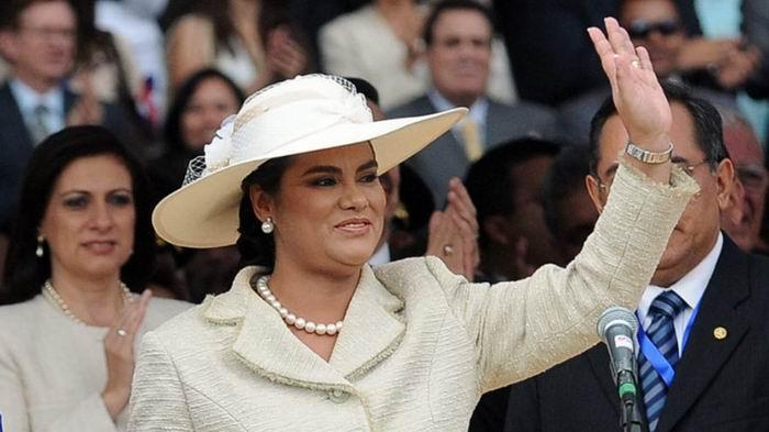 Detenida exprimera dama de Honduras