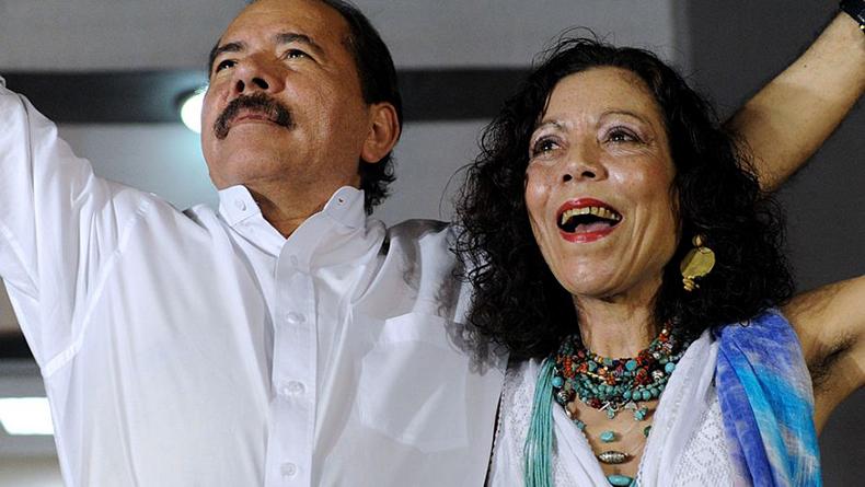 Resultado de imagen para Daniel Ortega y Rosario Murillo
