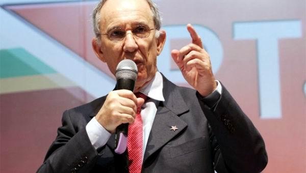 Presidente del Partido de los Trabajadores (PT) de Brasil, Rui Falcao