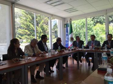 Fortalecen lazos de cooperaci�n instituci�n mexicana y FAO