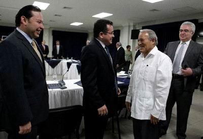 Dirigentes de ANEP colaborarán en el pago de bonos con la reforma fiscal (Foto:Presidencia.sv)