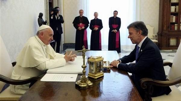 Concluye Santos gira europea por apoyo a proceso pacificador