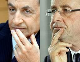 Nicolás Sarkozy  y Francois Hollande disputarán la segunda vuelta de las elecciones presidenciales en Francia