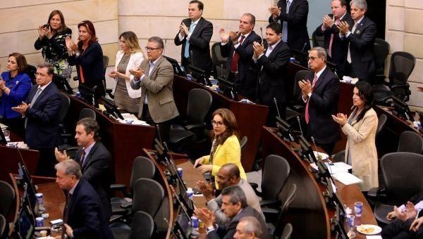 El Senado colombiano blinda los acuerdos de paz