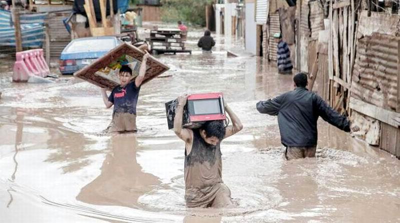 Intense Rains in Peru