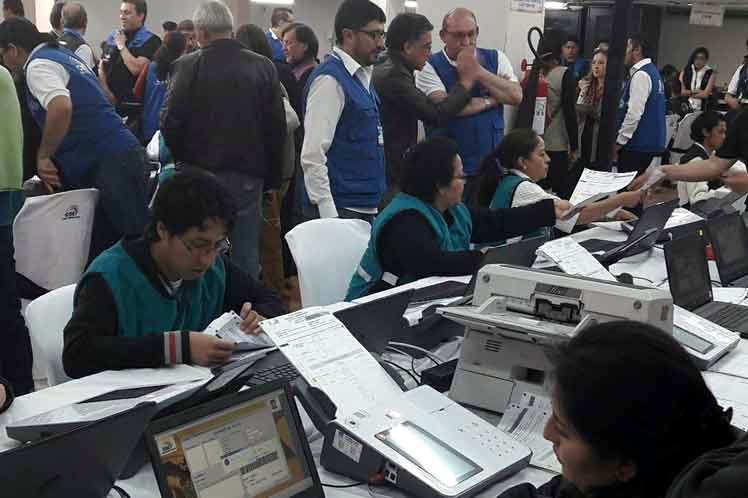 Realiza Ecuador exitosa jornada de simulacro nacional electoral (+Audio)