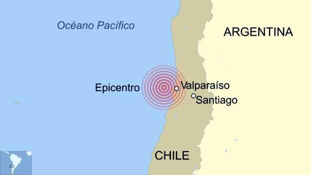 Sacude a Chile un nuevo sismo de magnitud de 6,9 (+Audio)