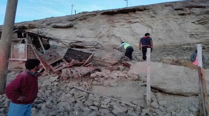 Sismo de 6,8 causa dos muertos y 65 heridos en Perú