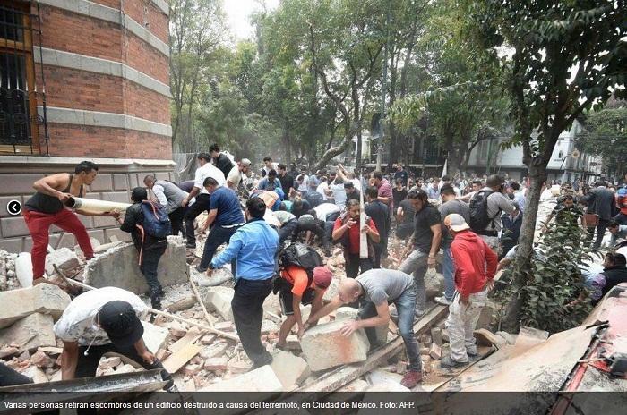 Terremoto de magnitud 7,1 en Ciudad de México (+Fotos y Videos)