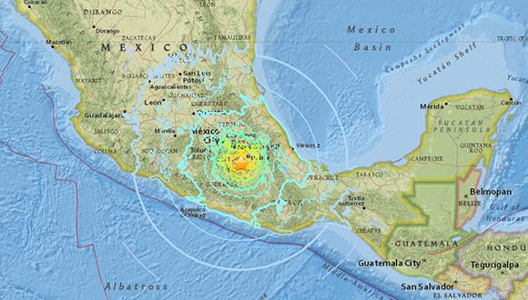Terremoto 7,1 en la Ciudad de México