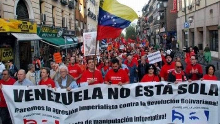 Jornada hoy de solidaridad con Venezuela. Foto: Radio del Sur