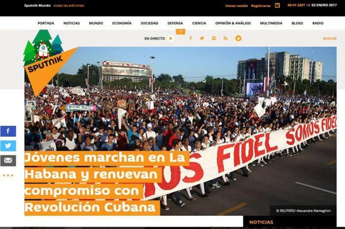 Destaca prensa extranjera unidad del pueblo cubano