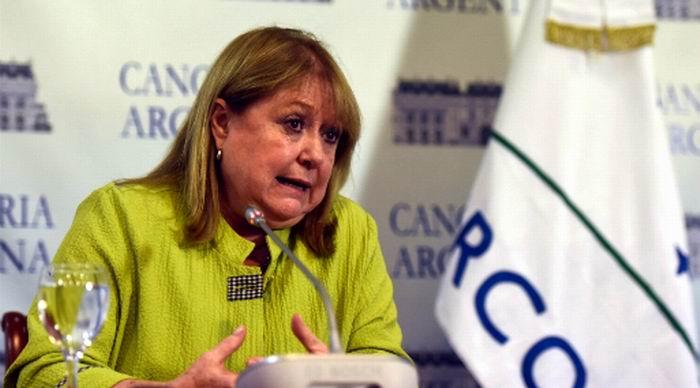 Ministra de Relaciones Exteriores argentina, Susana Malcorra