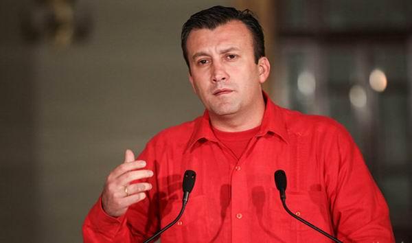 Vicepresidente ejecutivo de la República de Venezuela Tareck El Aissami