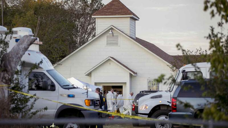 The Shooting in the Church in Texas