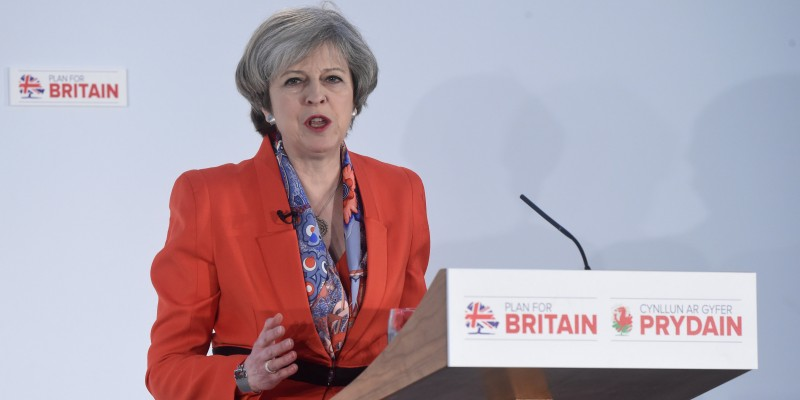 Primera ministra, Theresa May. Foto: Reuters