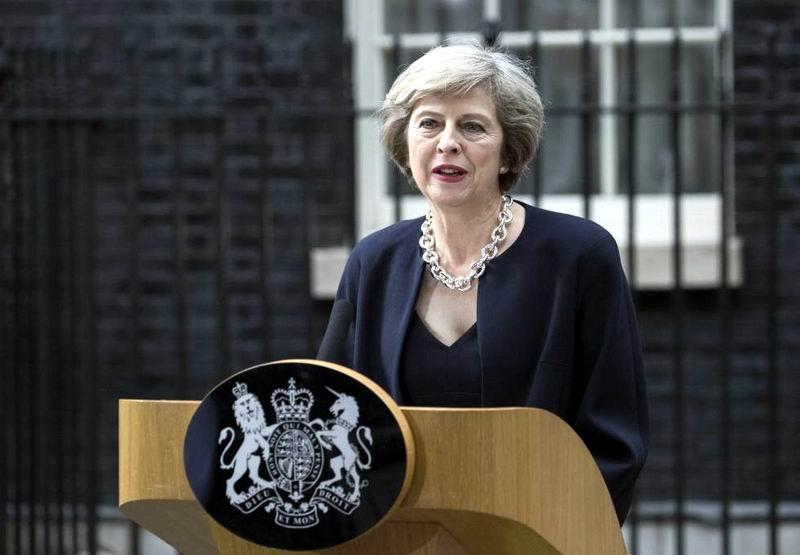 Theresa May, nueva primera ministra brit�nica