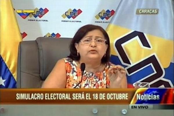 Simulacro electoral en Venezuela el 18 de octubre (+Audio)