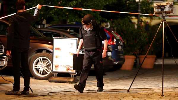 Identifican al responsable de la explosi�n de la ciudad alemana de Ansbach