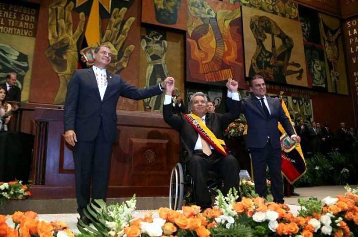 Toma posesión Lenín Moreno en Ecuador
