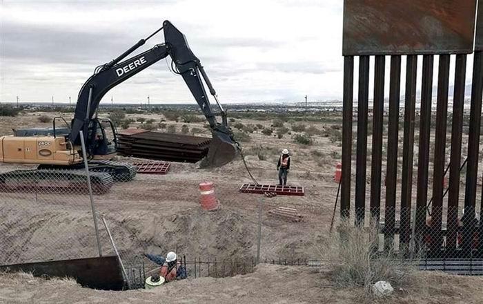 Publican en Estados Unidos proyecto de Ley para construcción de muro fronterizo con México