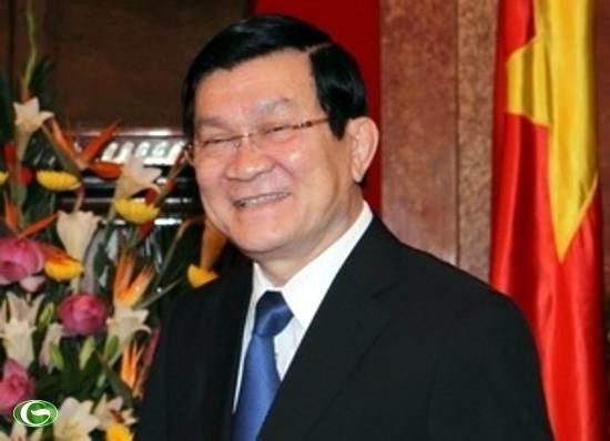 Llegar� a Cuba el Presidente de Vietnam en visita oficial