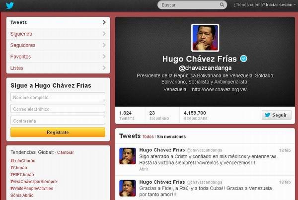 La red de redes con Hugo Chávez