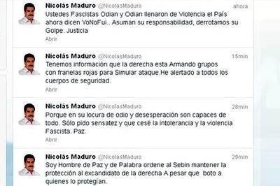 Maduro denunció por Twitter presuntos planes de la burguesía venezolana (Foto: teleSUR)